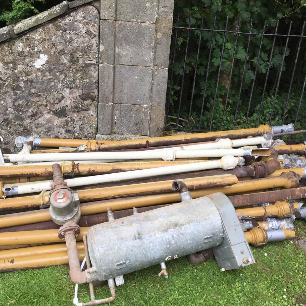 Photos from Bishopton Parish Church heating system 13