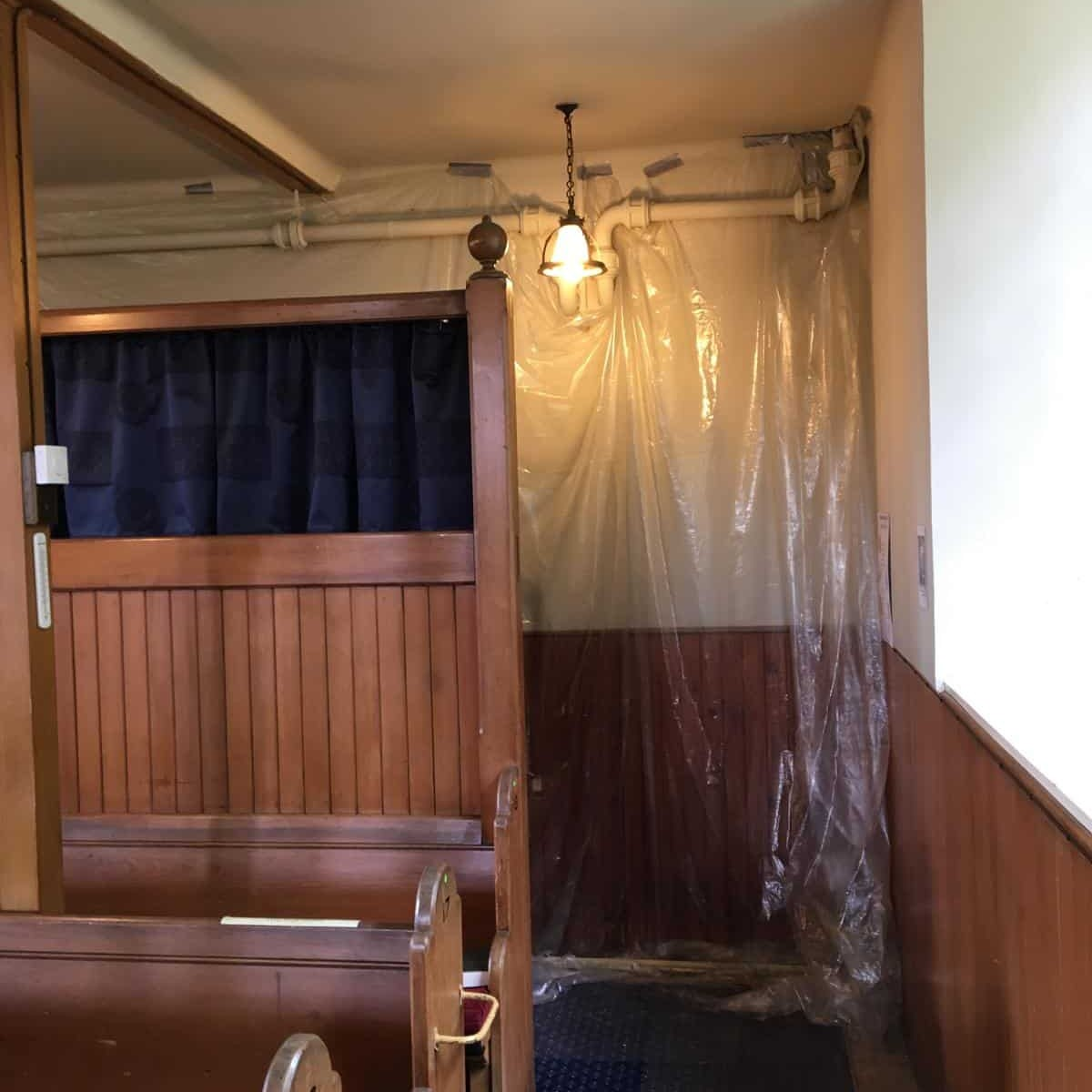 Photos from Bishopton Parish Church heating system 14