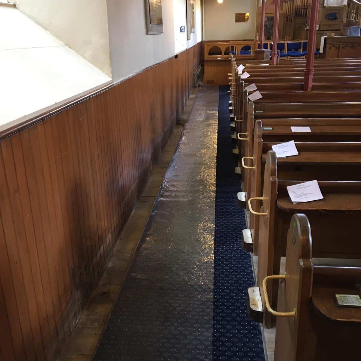 Photos from Bishopton Parish Church heating system 15