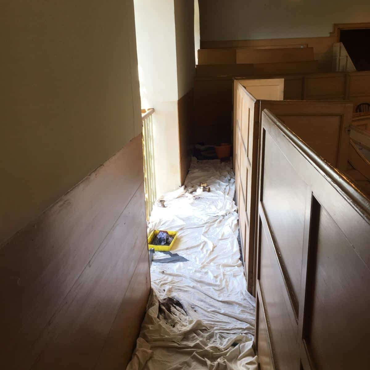 Photos from Bishopton Parish Church heating system 23