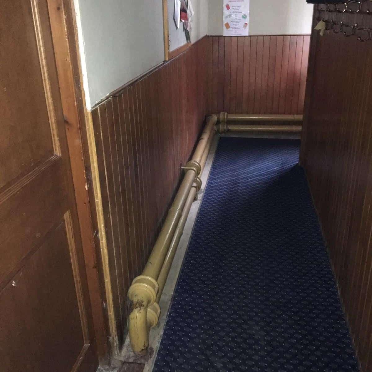 Photos from Bishopton Parish Church heating system 27
