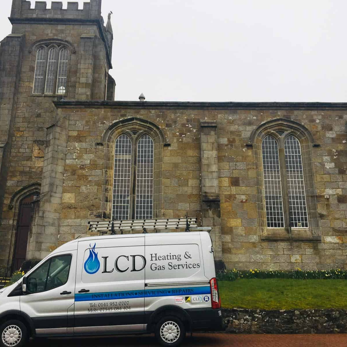 Photos from Bishopton Parish Church heating system 28