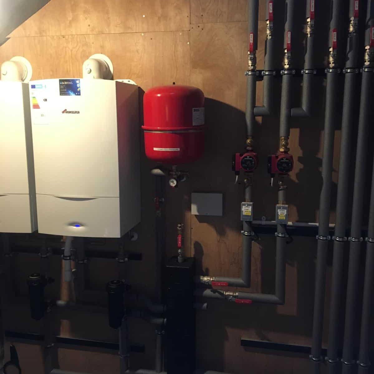 Photos from Bishopton Parish Church heating system 30