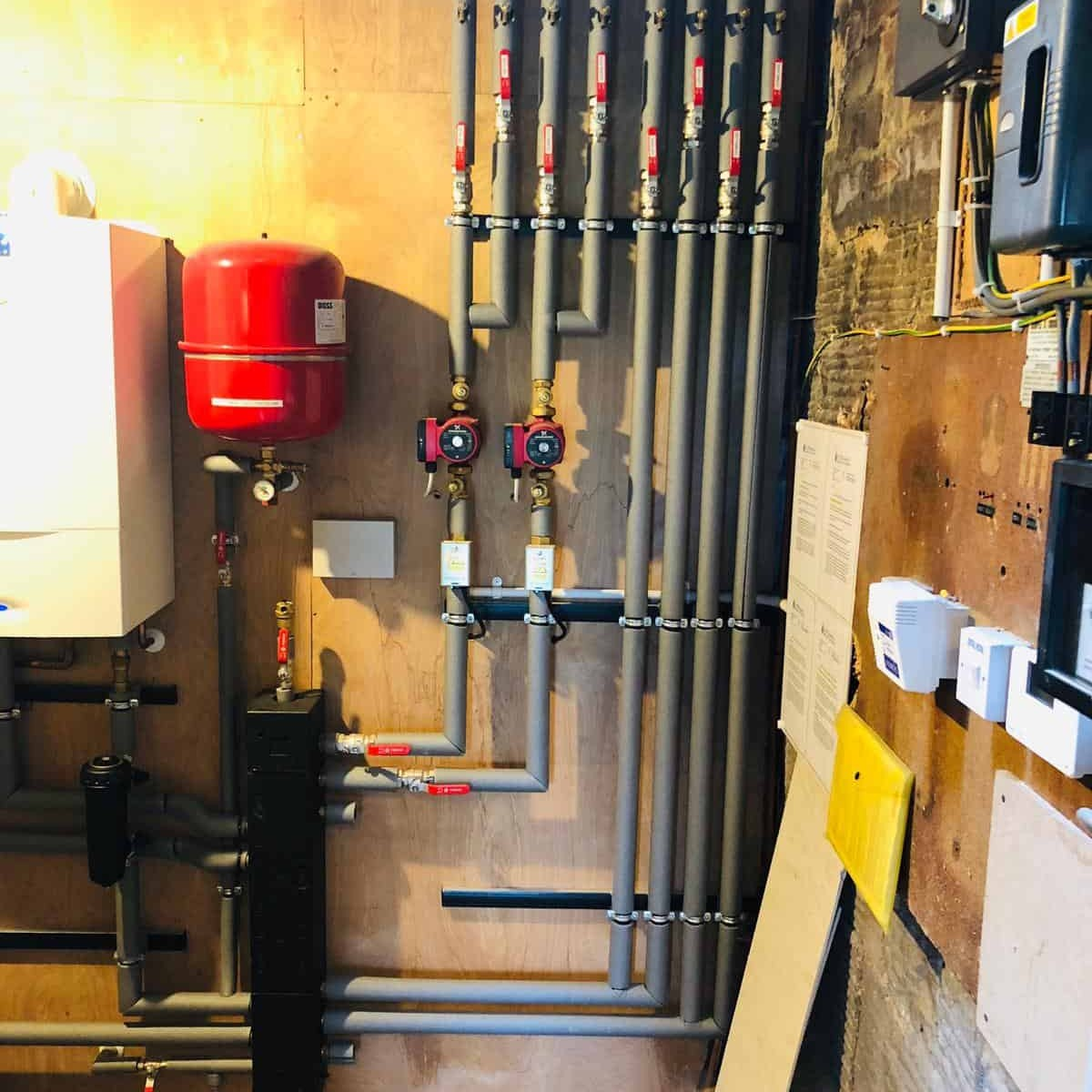 Photos from Bishopton Parish Church heating system 34