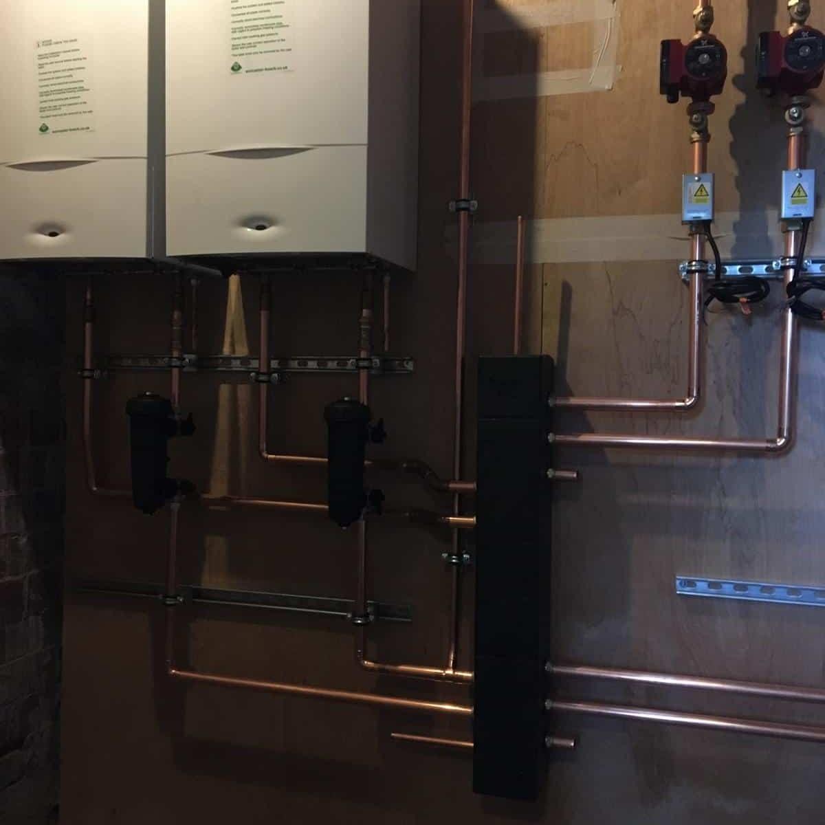 Photos from Bishopton Parish Church heating system 6