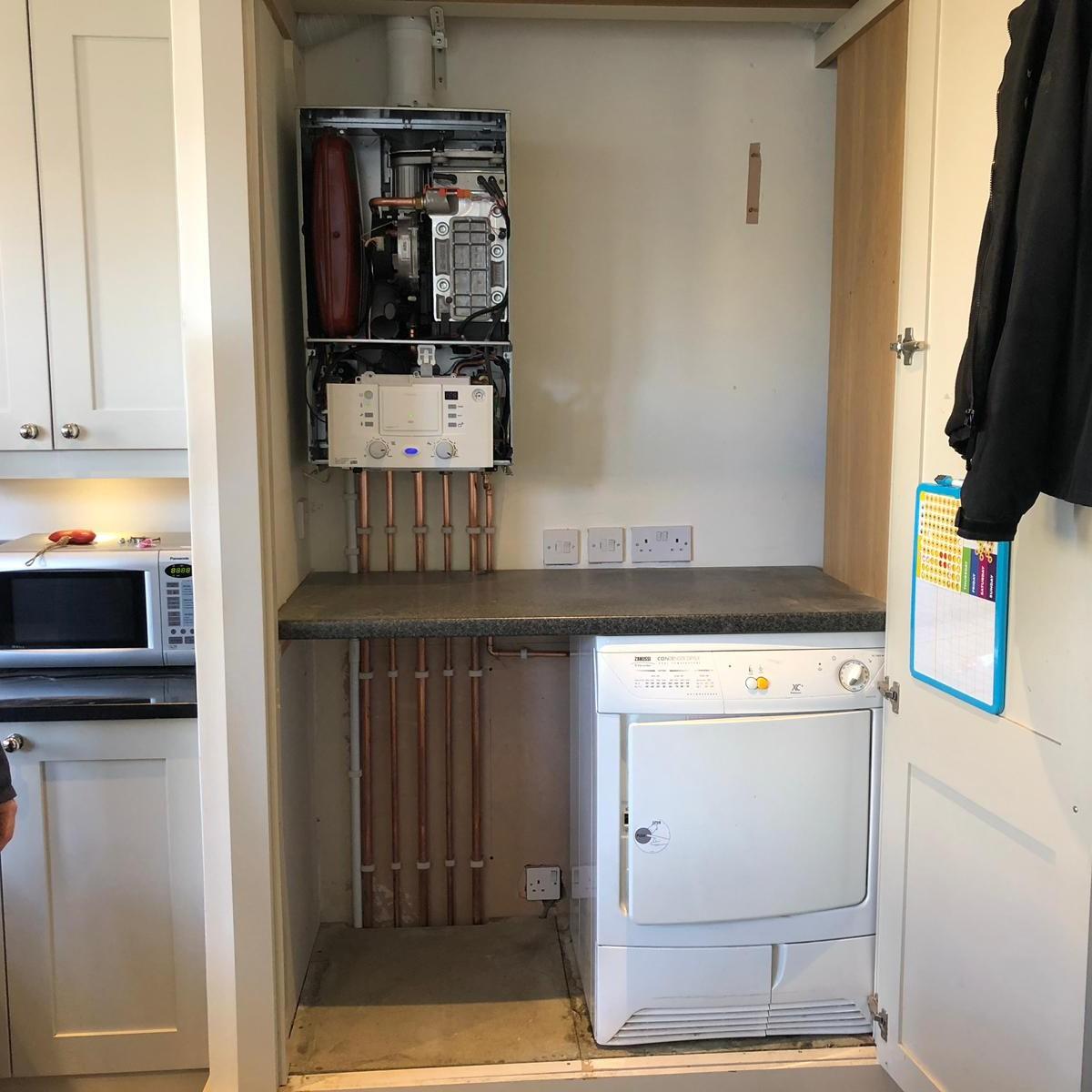 Boiler Installation Woodend Drive Glasgow 2