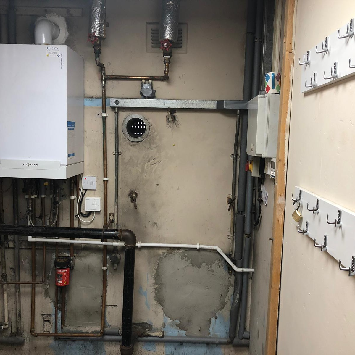 Boiler Installation For Radnor Park Bowling Club Clydebank