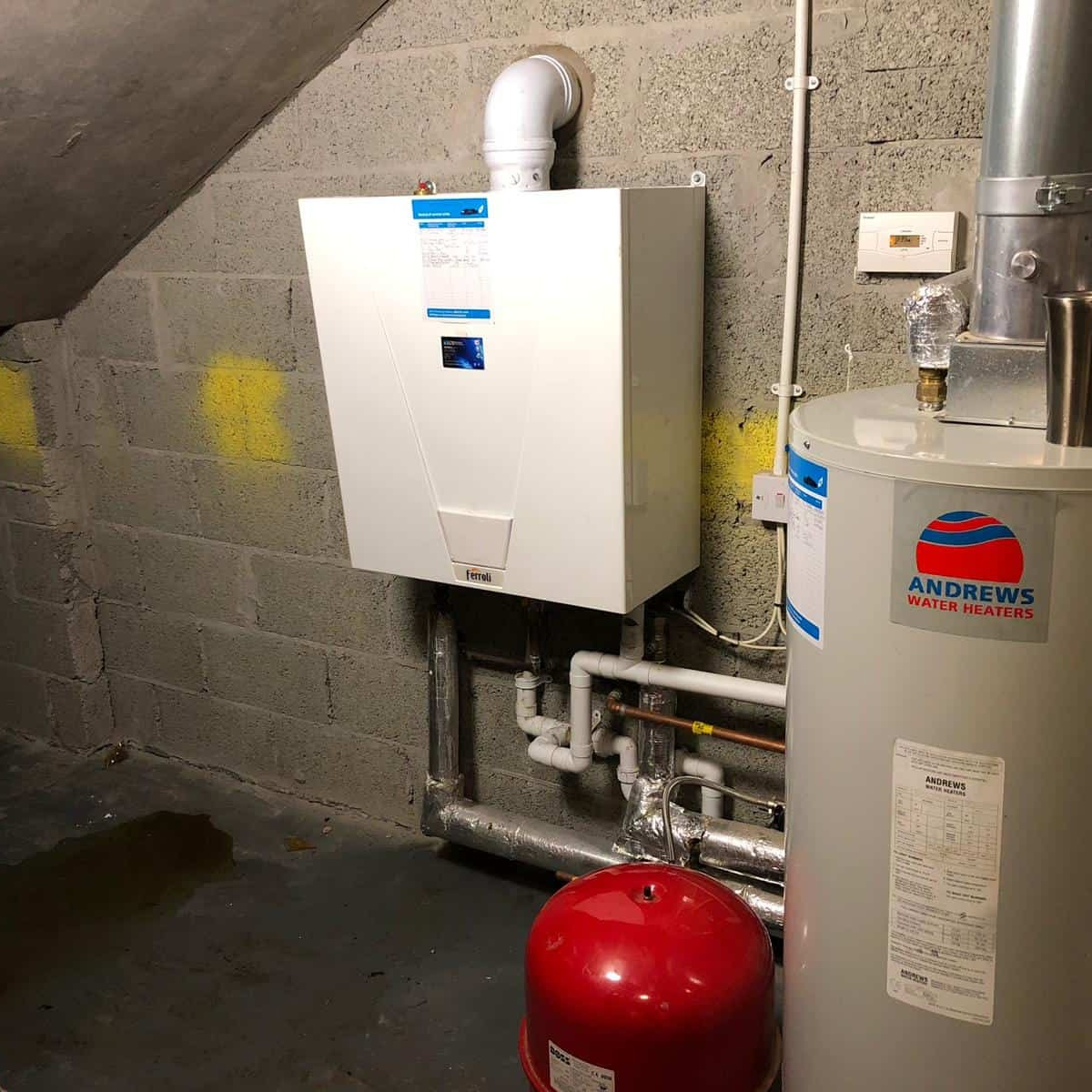 Worcester Boiler Installation for Cornerstone Glasgow